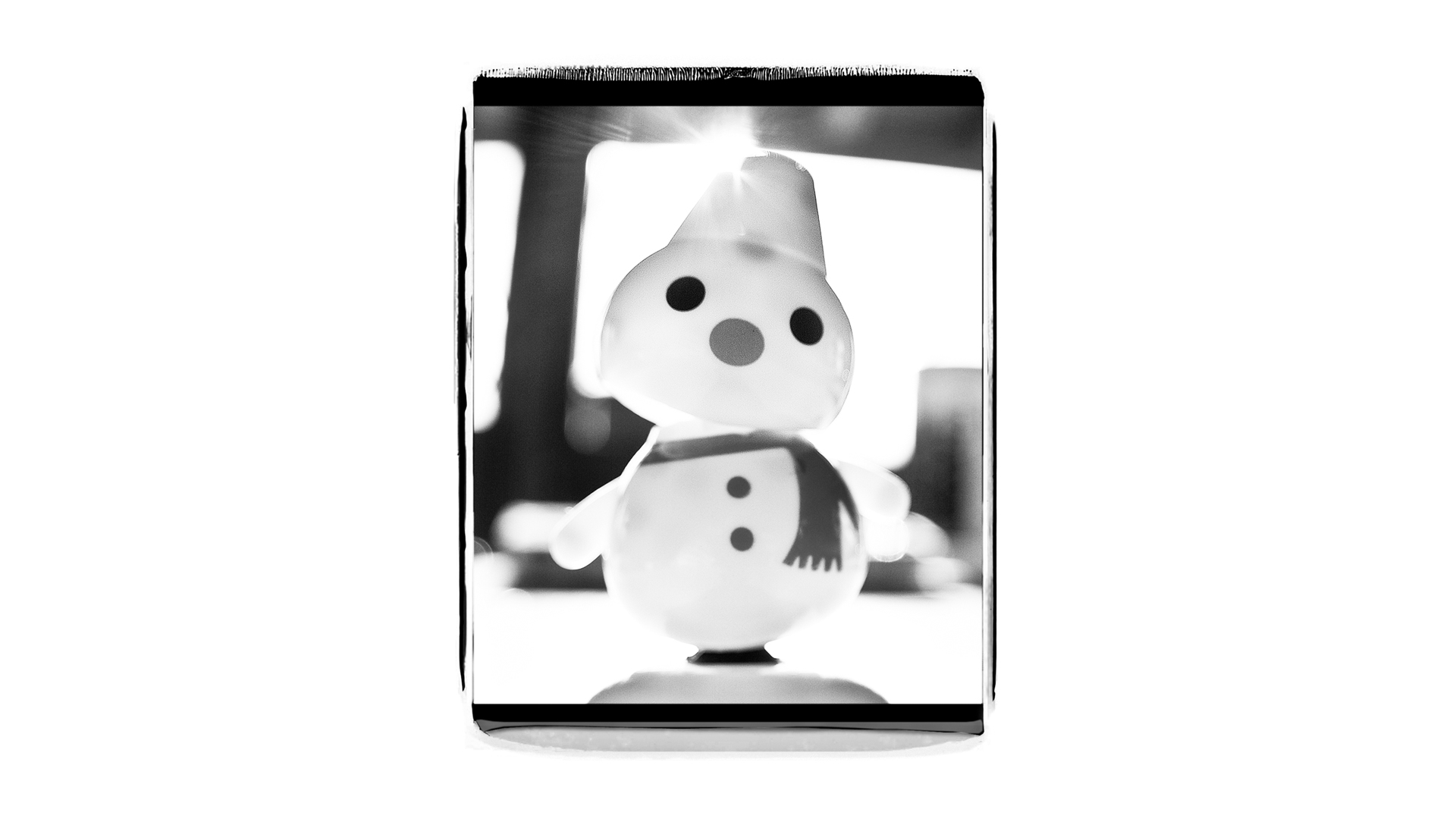 You can buy these little solar powered snowmen at the local hardware store right before winter and they rock from side to side when the sun hits the panel. Thing is we only see the sun about 5-10 times all winter so when they stop moving at the start of the first big dumps you know it's time for a beacon.