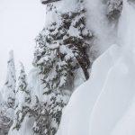Matt Wainhouse and a sniper landing. Photo: Brad Andrew.