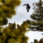 Cochrane, Alberta's Noah Maisonneuve killed it all week, and must have been one of the hardest working guys out there. He was constantly hiking spots with little to no media watching him, and going bigger than most. Melon over a tricky gap through the tree island.