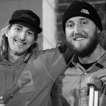 Hans Mindnich and Absinthe filmer Ryan Finder. Photo: Ben Shanks Kindlon.