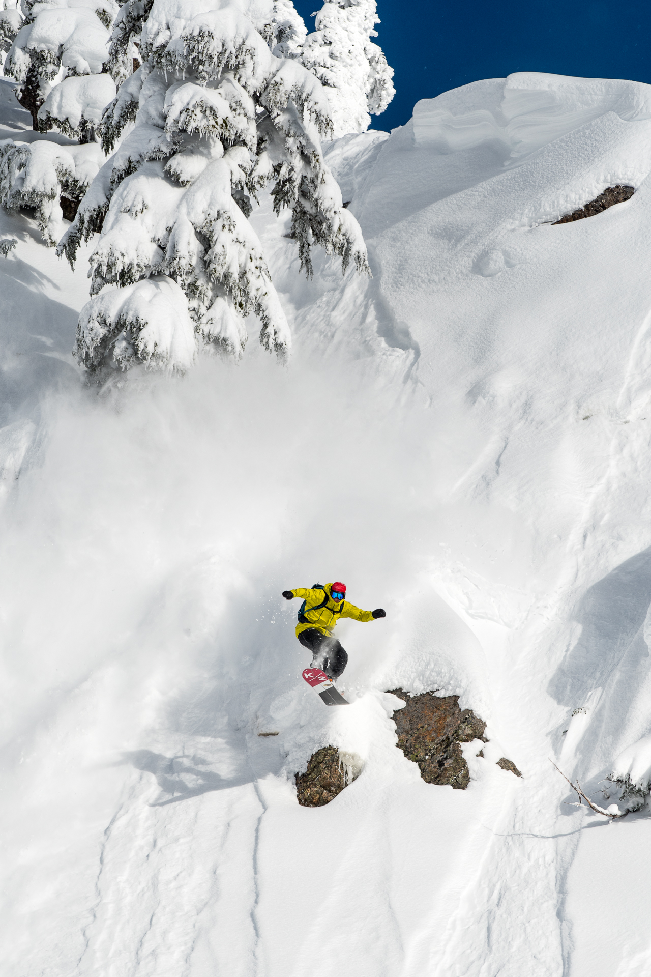 Kael Martin, Mt Baker backcountry, WA. Photo: Colin Wiseman.