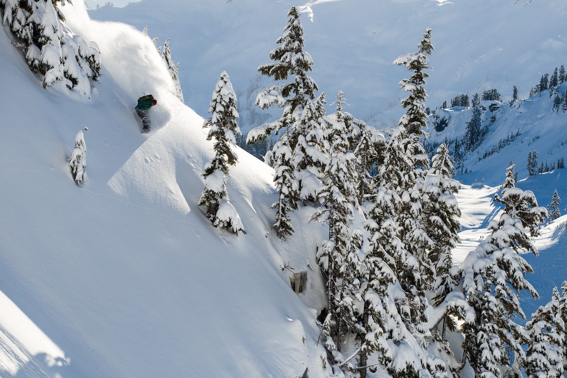 Kael Martin, Mt. Baker backcountry, WA. Photo: Colin Wiseman.