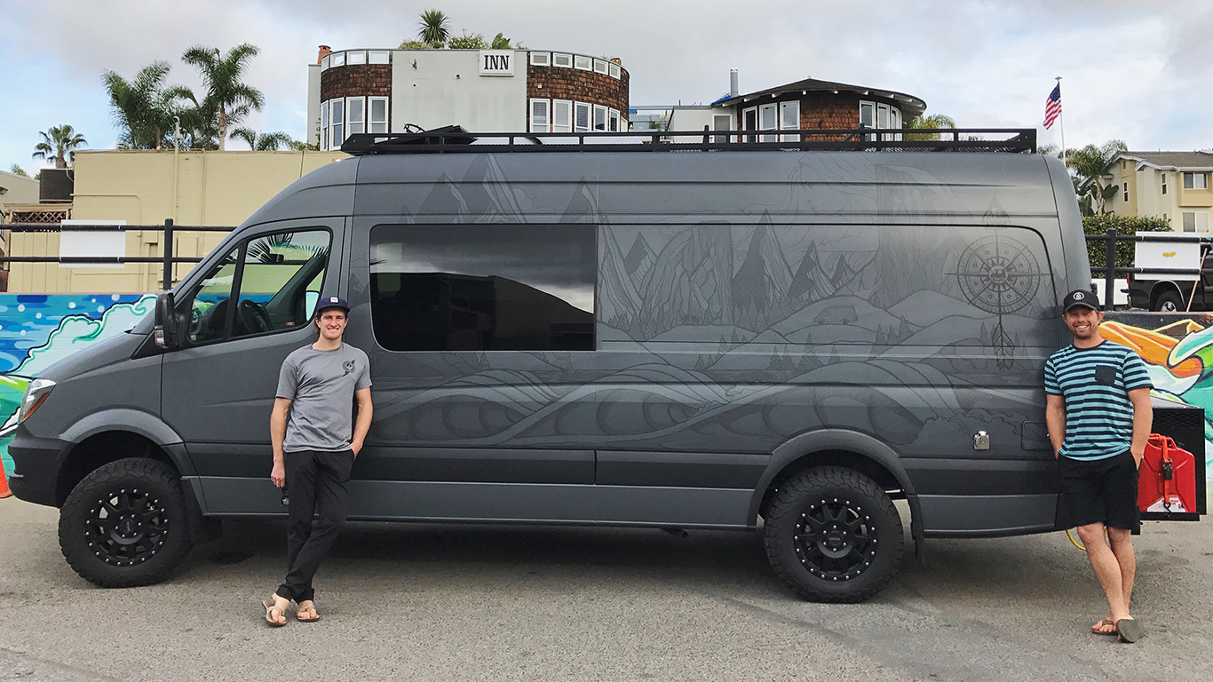 Sprinter Conversion Van >> Riding Shotgun with Chris Benchetler - The Ski Journal