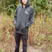 TFFJ zip hoodie.
