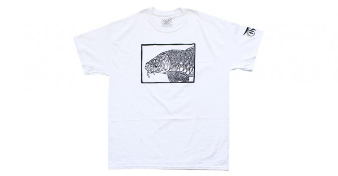 The Flyfish Journal Carp t-shirt.