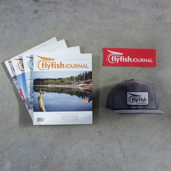 TFFJ subscription package with grey hat.