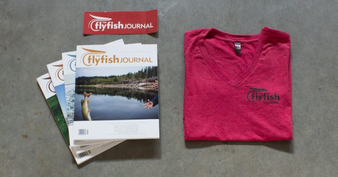 TFFJ red woman's t-shirt subscription package