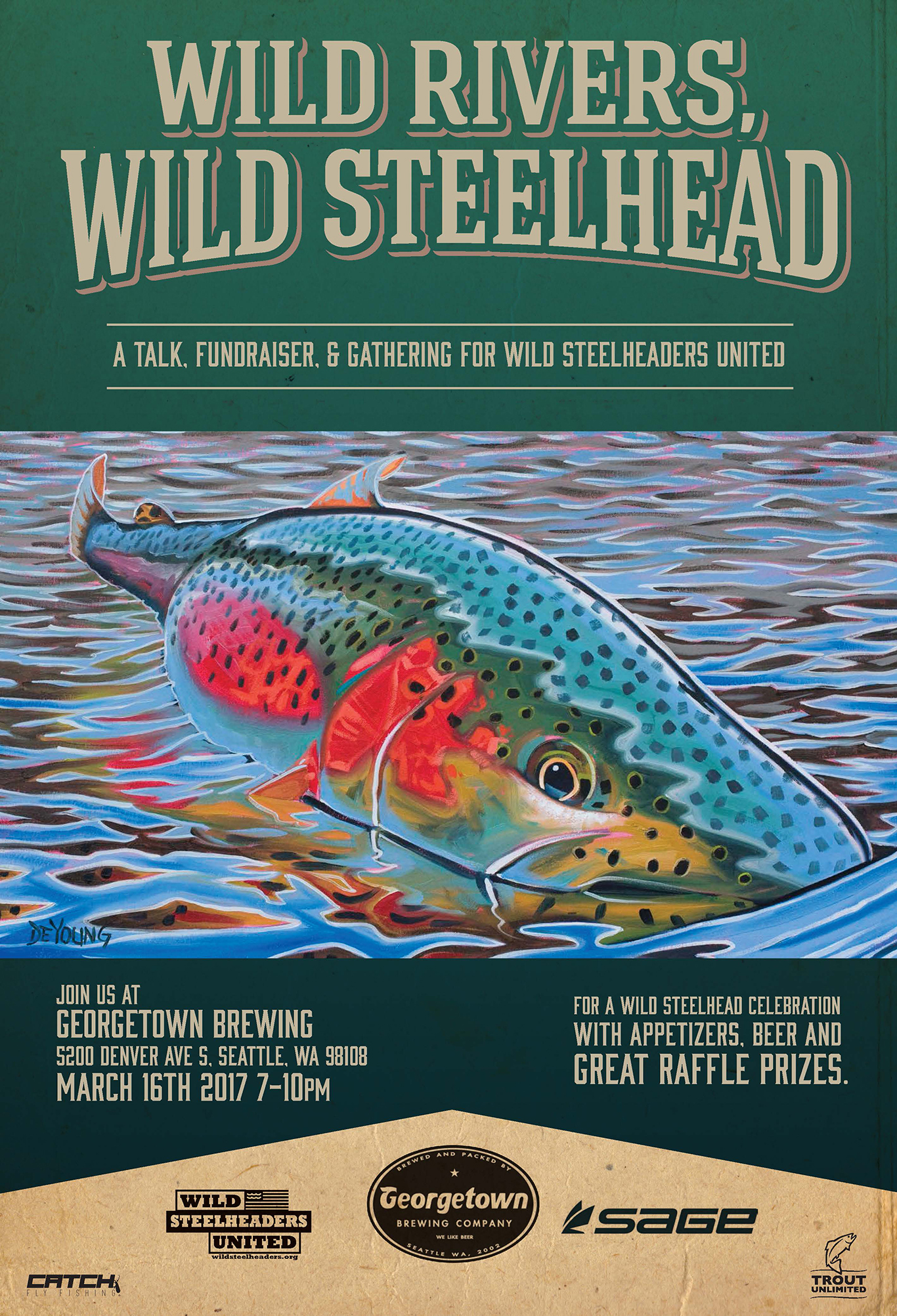 wild steelhead, flyfishing, conservation, wild steelheaders united