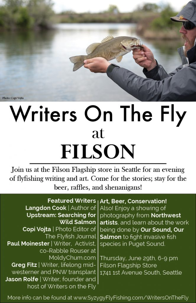 Writers on the fly,flyfishing,event