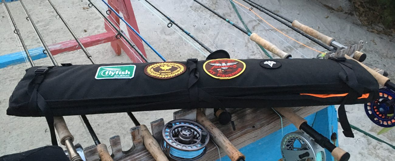 vedavoo river quiver, rod bag, flyfishing